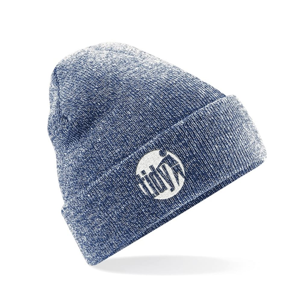 Tidy Beanie (Heather Blue)